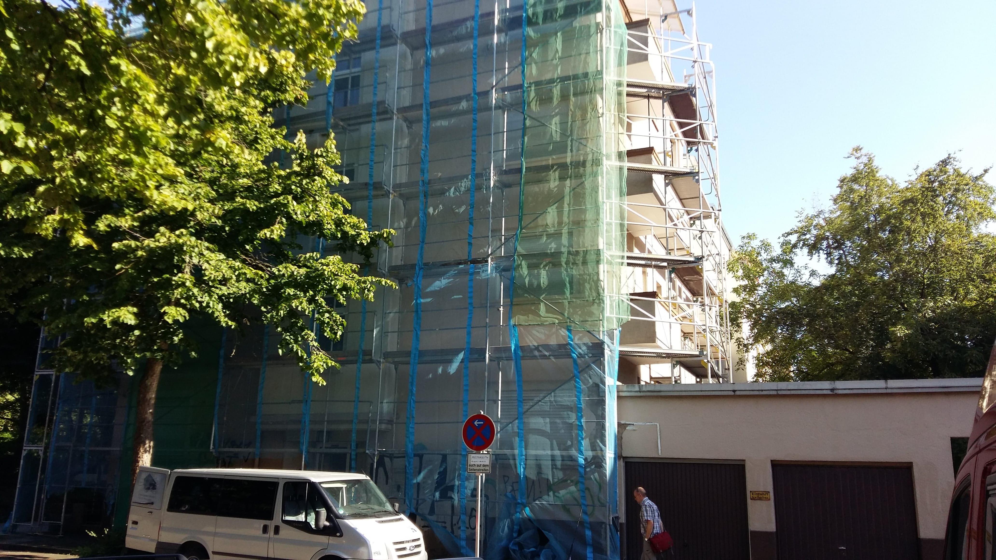 Fassade, Karlsruhe