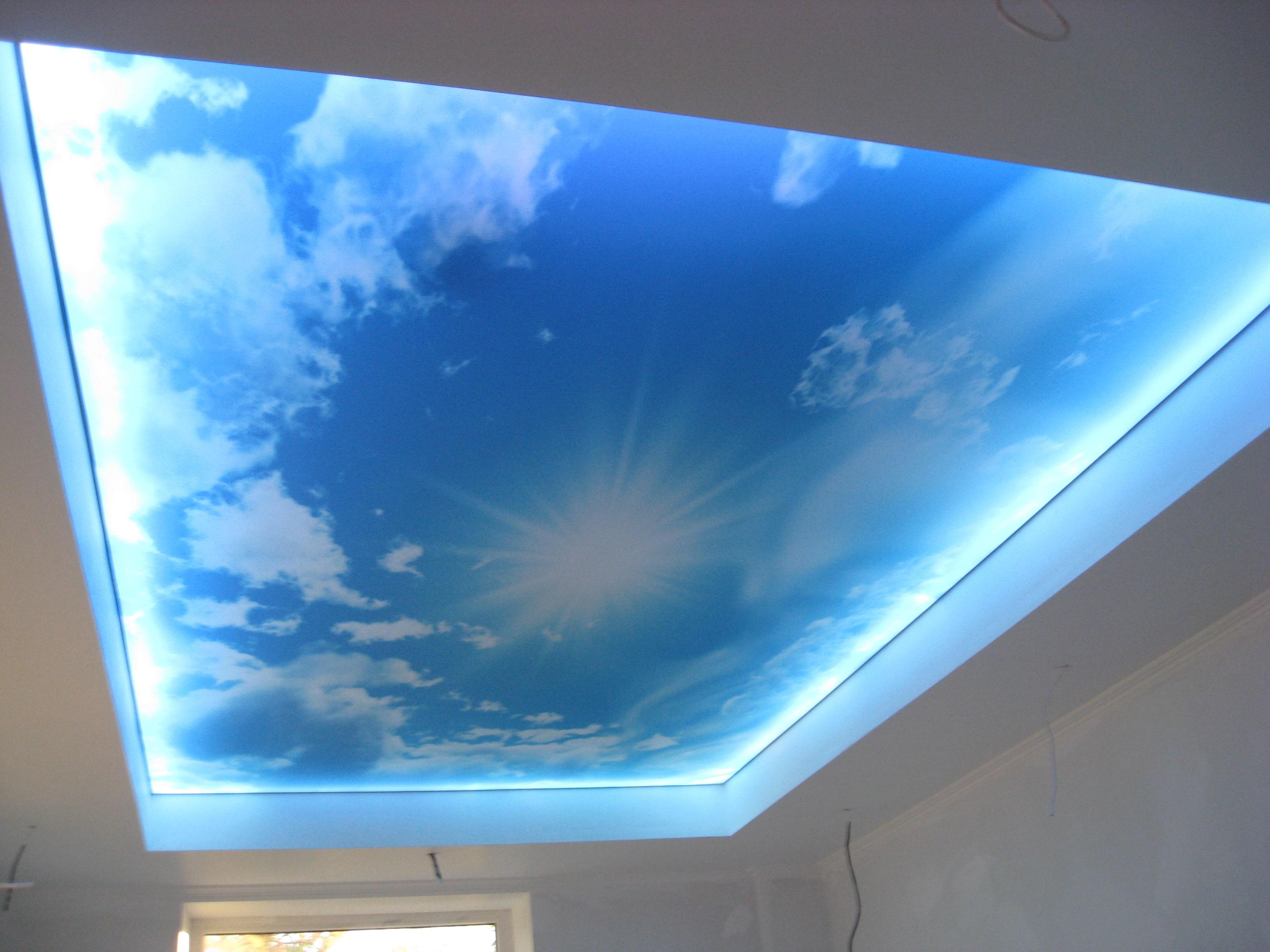 "Lichtspanndecke "" Sky"""